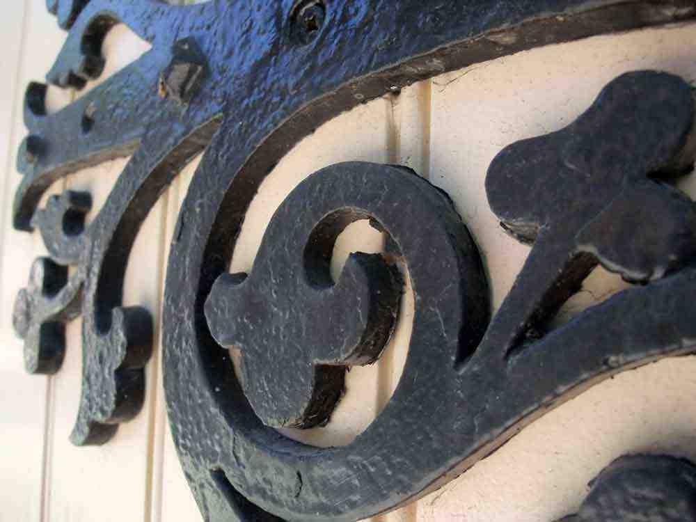 École Enoch Turner (détail de la porte)