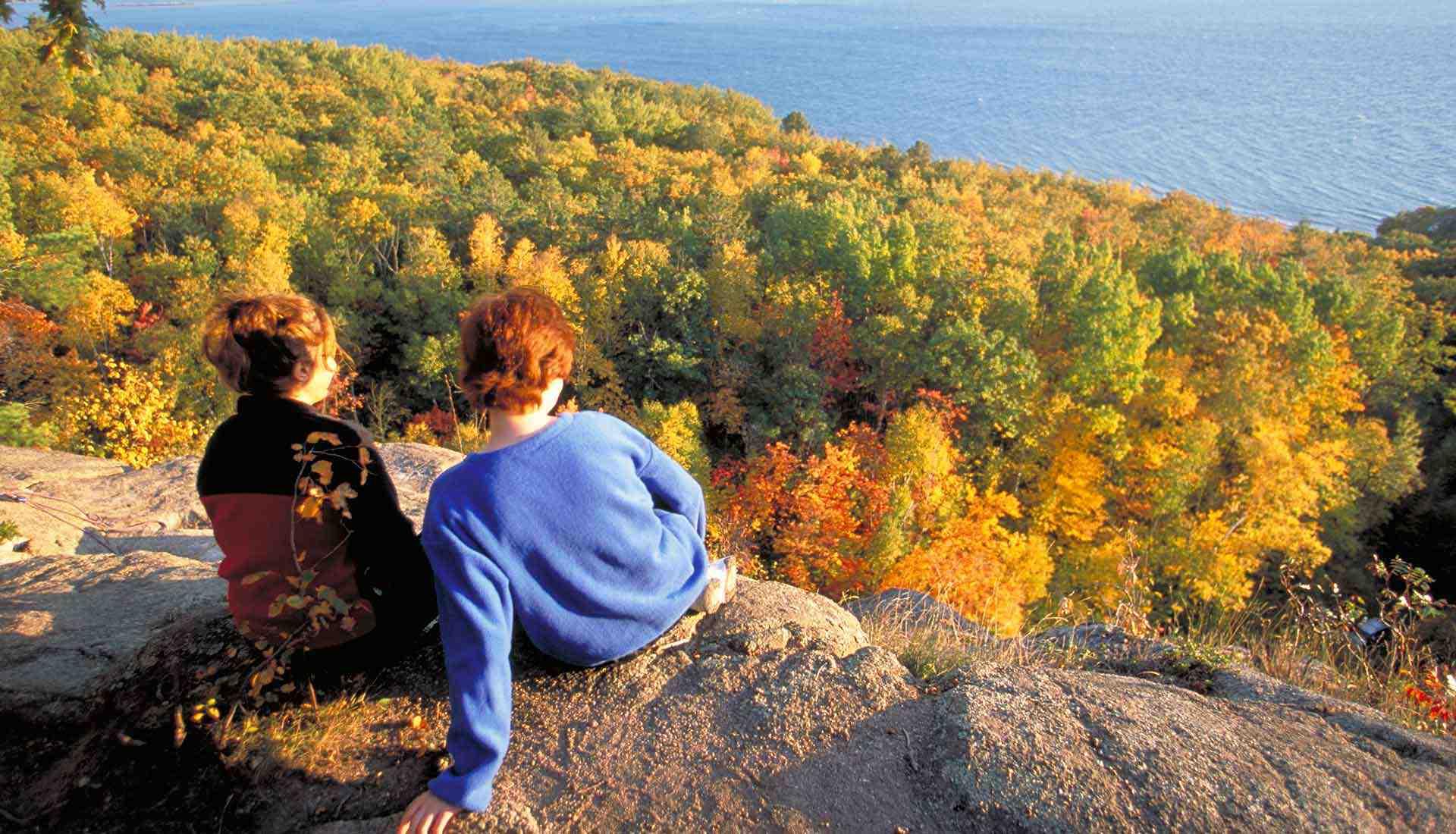 Feuilles d'automne, Sault Ste. Marie (Photo : Destination Ontario)