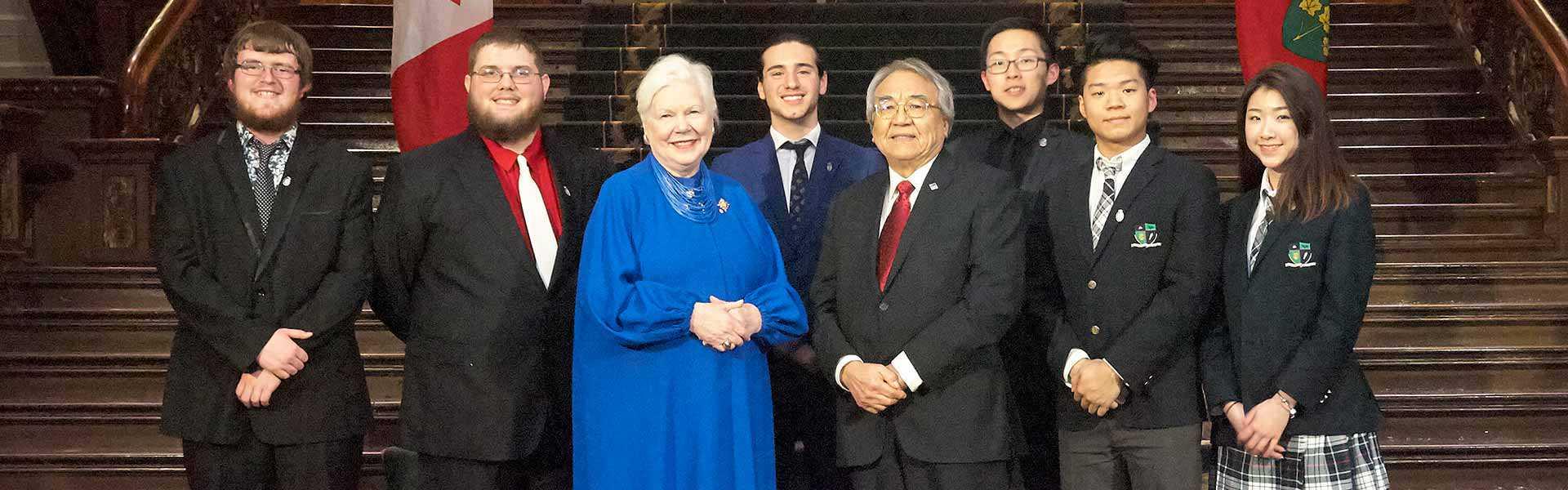 Les bénéficiaires des Prix du lieutenant-gouverneur pour réalisations en matière de conservation du patrimoine ontarien 2018