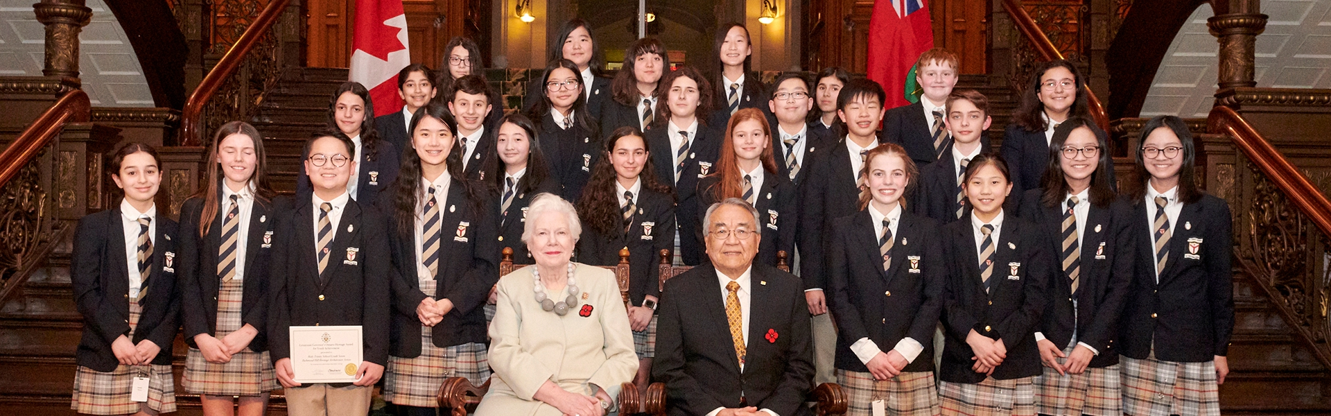 2019 recipients of the Lieutenant Governor's Ontario Heritage Awards
