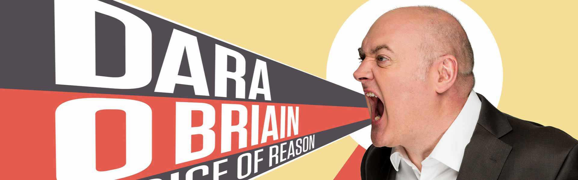 Dara Ó Briain – Tournée «Voice of Reason»