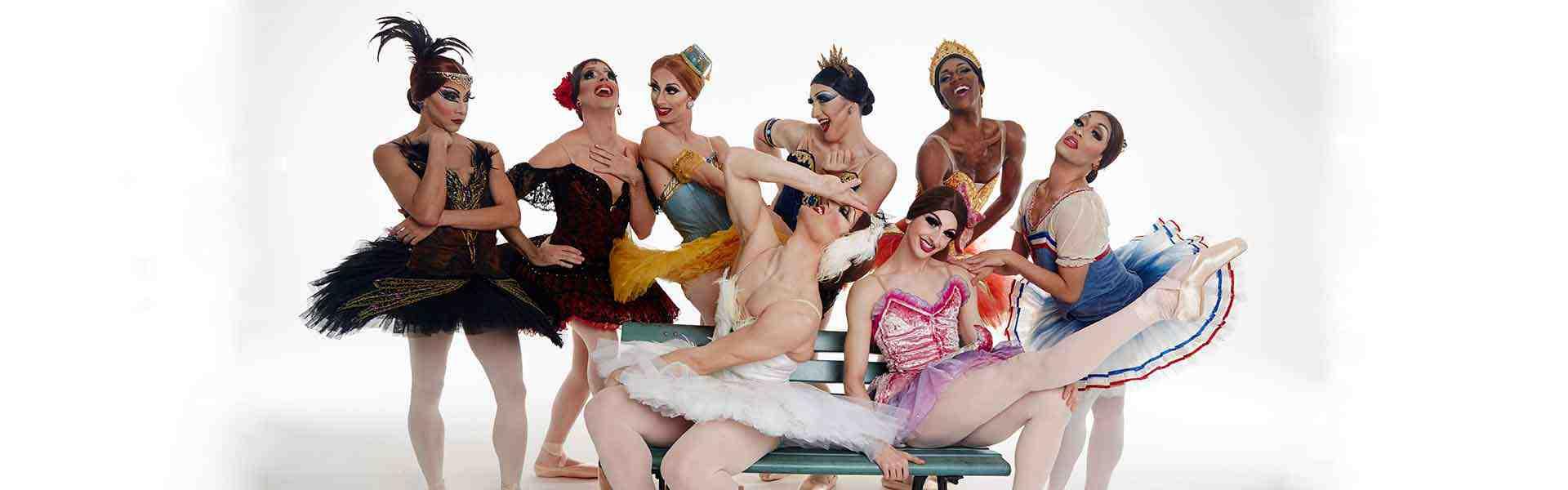 Les Ballets Trockadero de Monte Carlo (Photo : Zoran Jelenic)