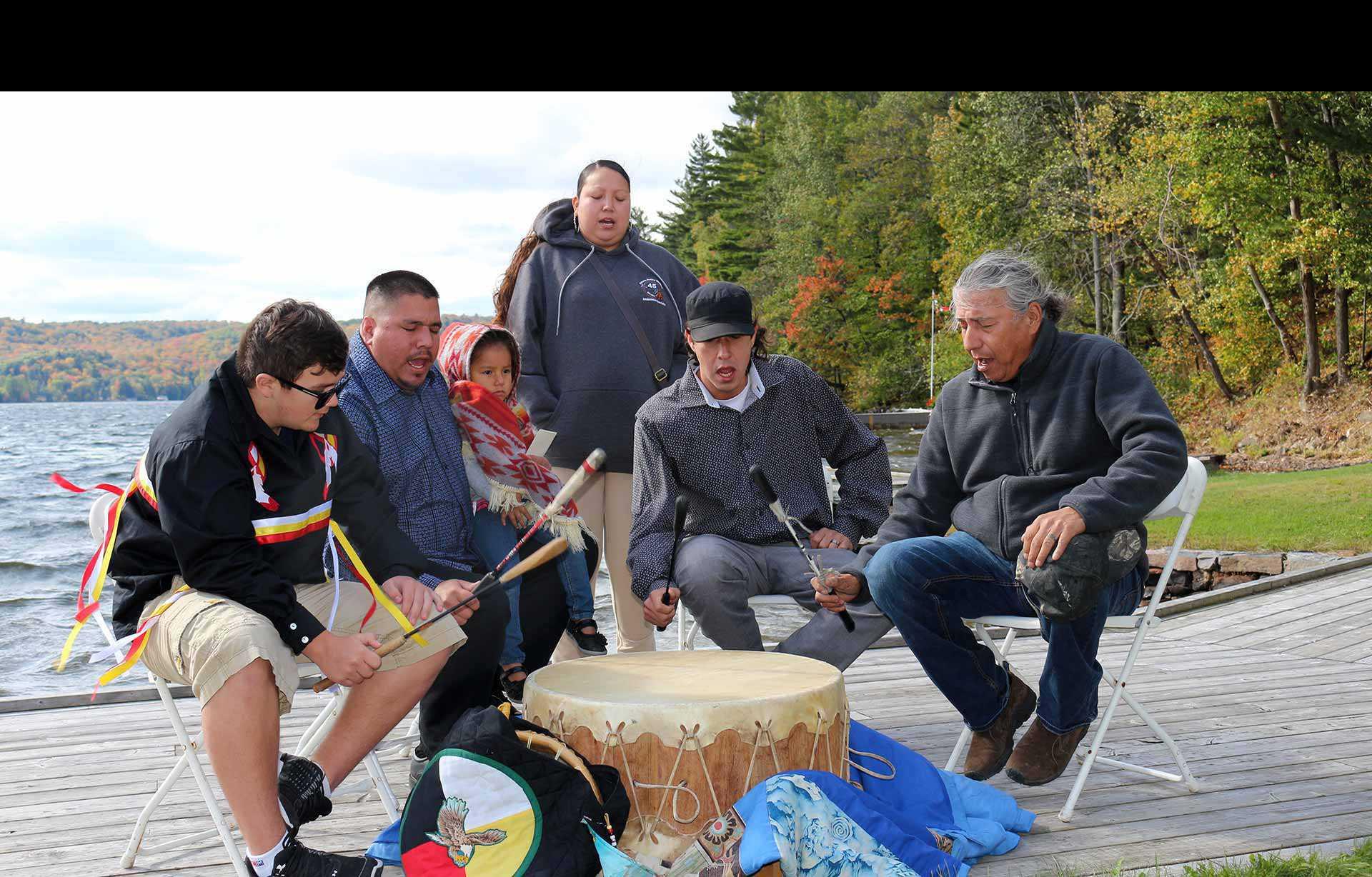 Événement de plaque des Anishinaabeg à Lake of Bays (2017)
