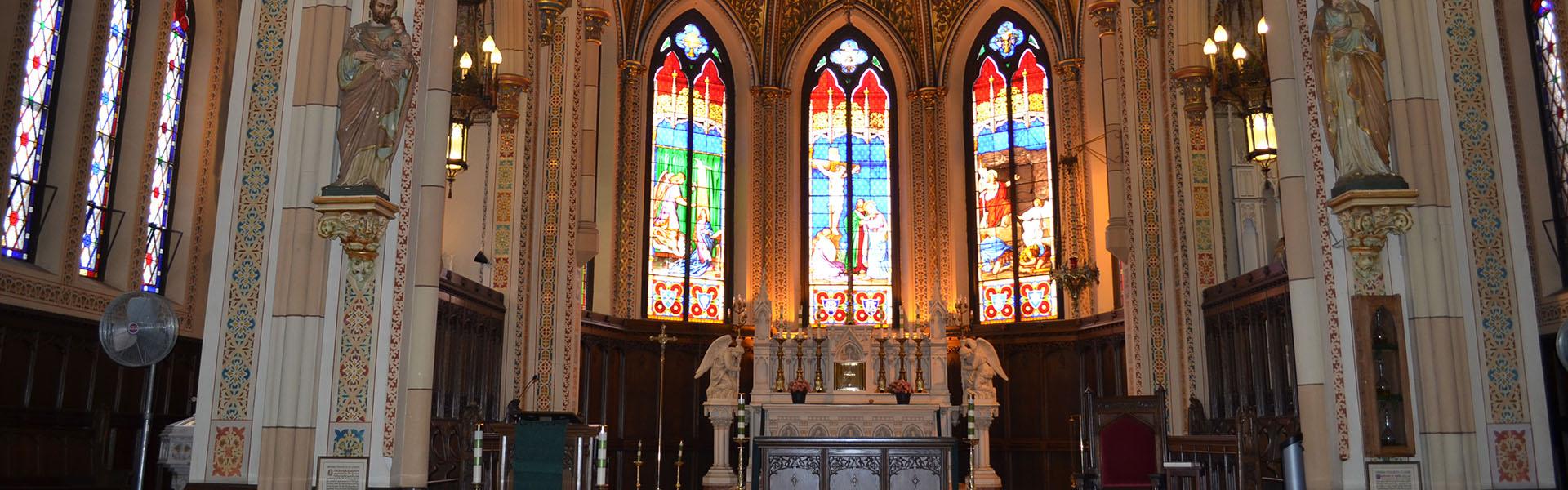 Assumption Church, intérieur