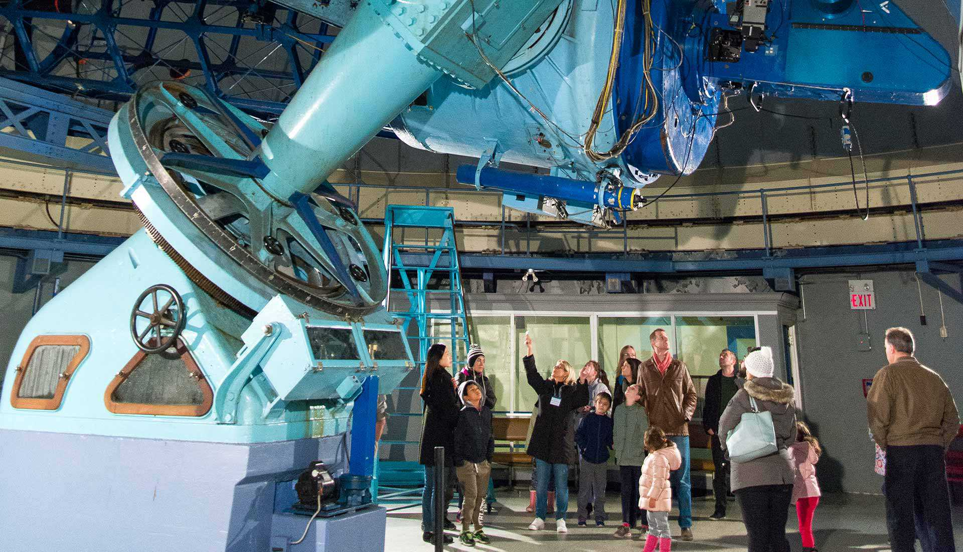 Inside the Dunlap Observatory, Richmond Hill (Photo: Chris Robart)