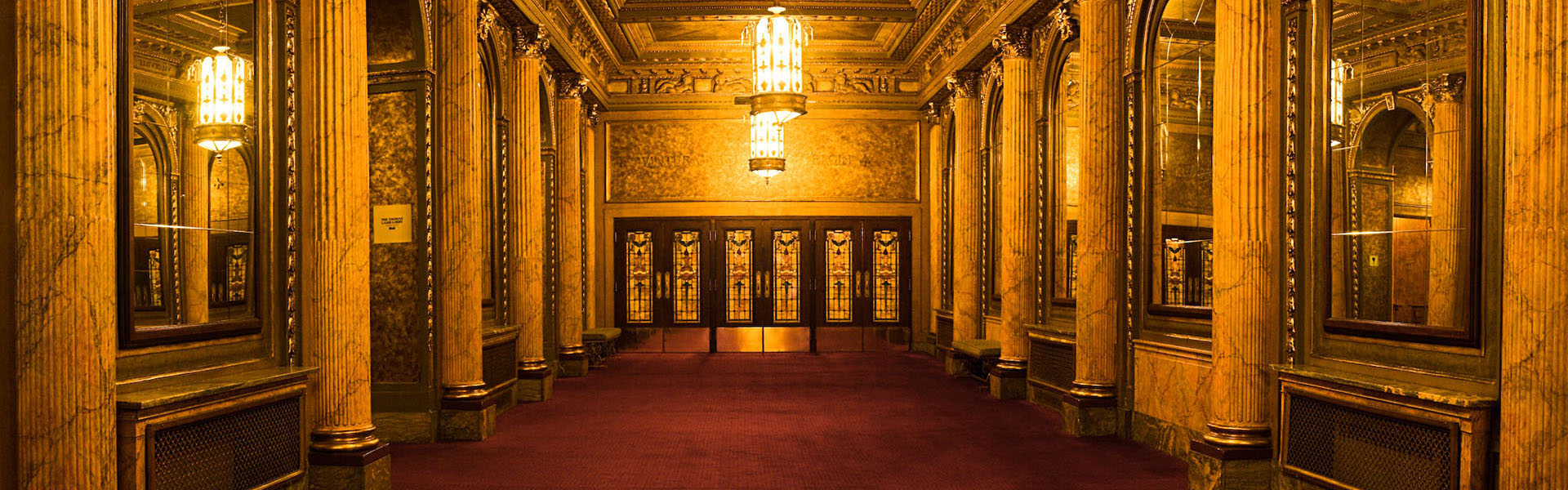 Lobby at the Elgin and Winter Garden Theatre Centre, Toronto