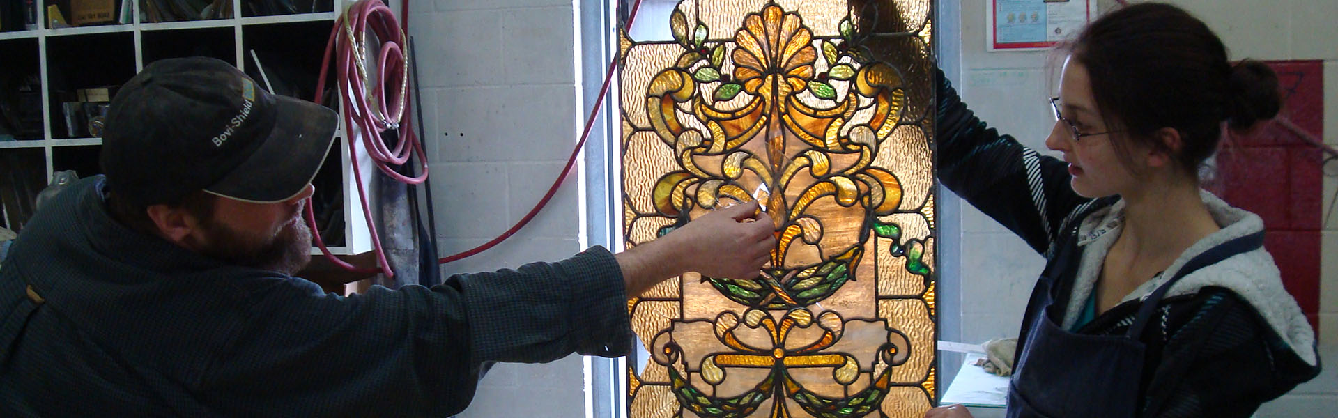 Fulford Place Window Conservation 2009