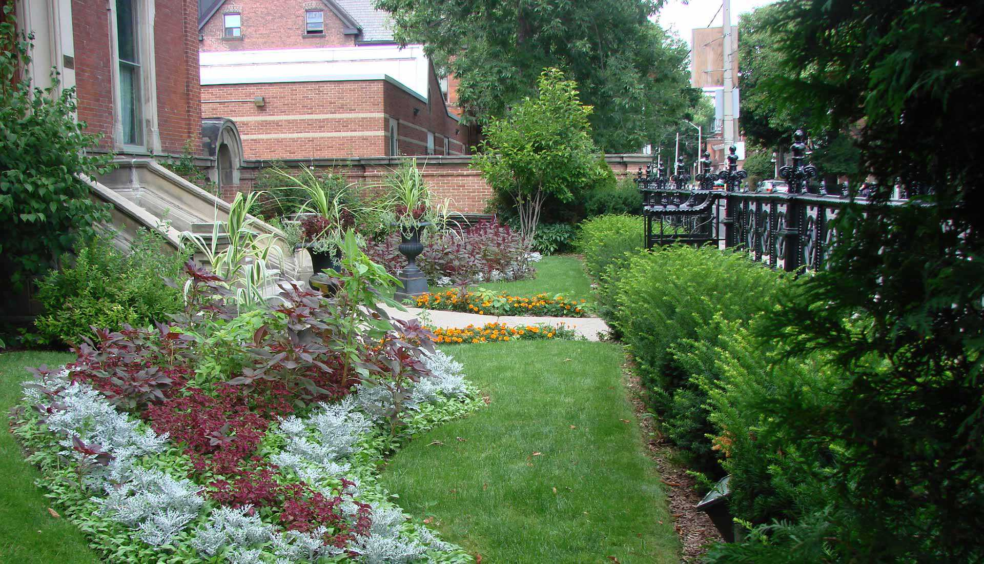 Gardens at George Brown House, Toronto