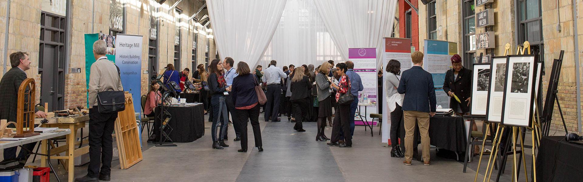 2017 Symposium sur le patrimoine culturel immatériel au Artscape Wychwood Barns à Toronto