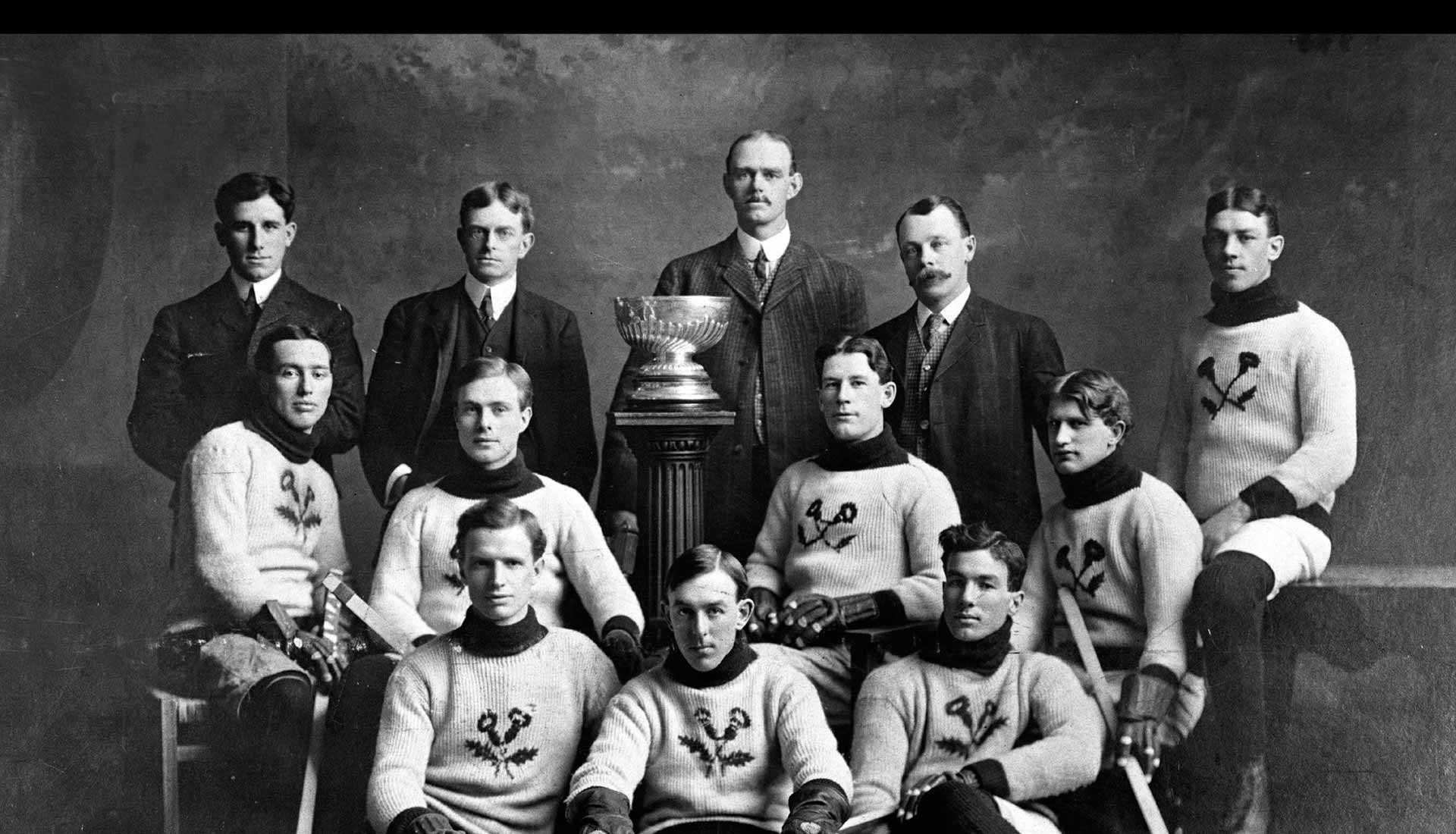 Kenora Thistles, 1907 (Photo courtesy of the Hockey Hall of Fame)