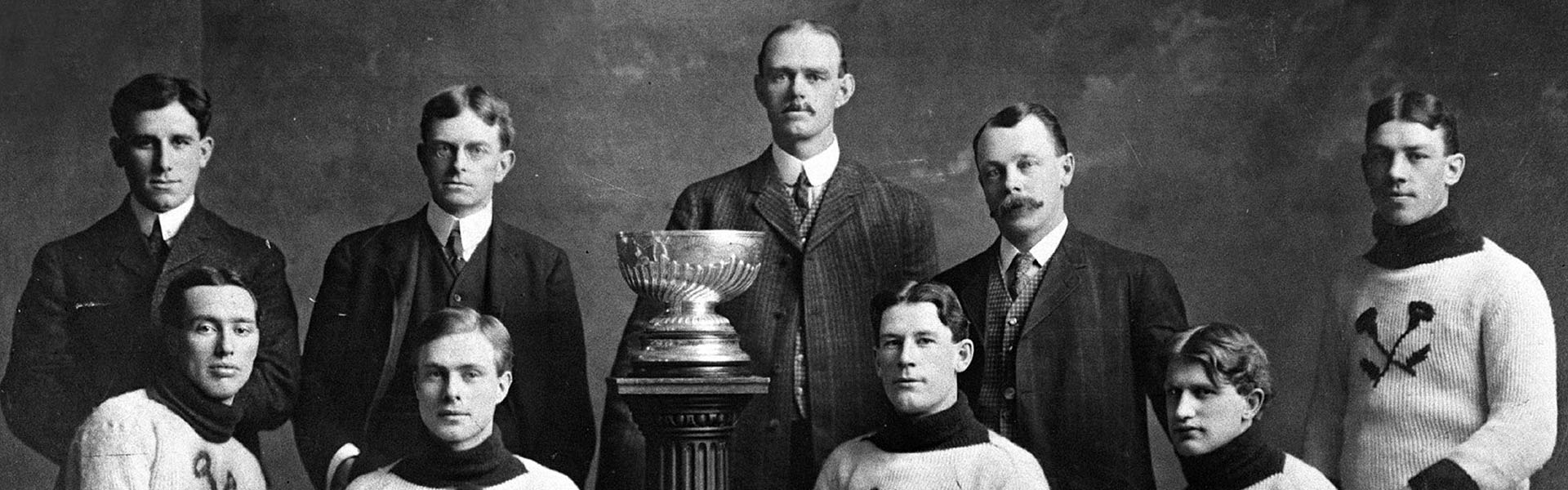 Thistles de Kenora, 1907 (Avec l'aimable autorisation du Temple de la renommée du hockey)