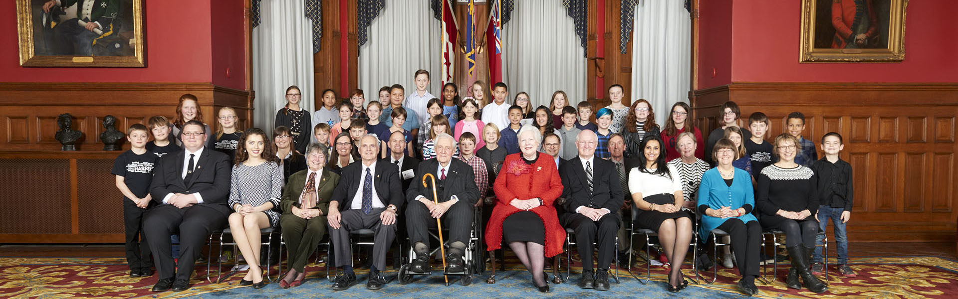 Recipients of the 2016 Lieutenant Governor's Ontario Heritage Awards