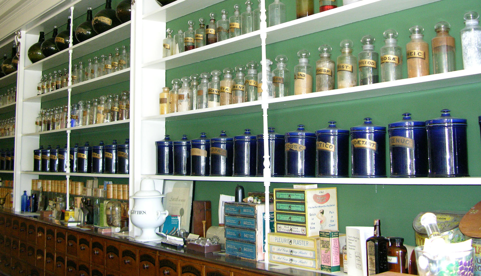 Inside the Niagara Apothecary, Niagara-on-the-Lake