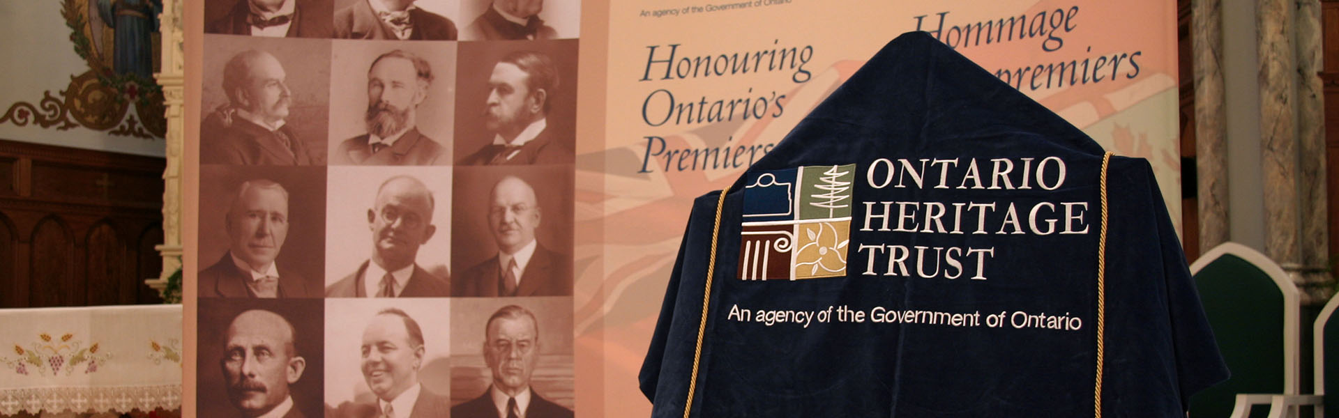Premiers' Gravesites Program event, St. Andrews West