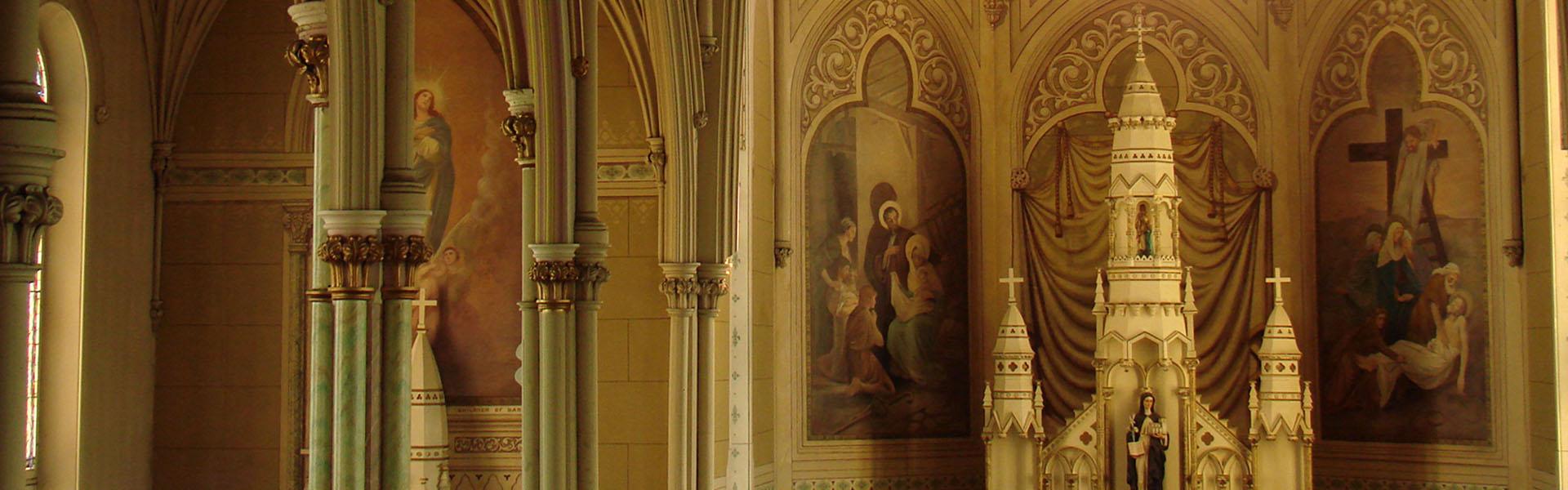 St. Brigid's Church, interior