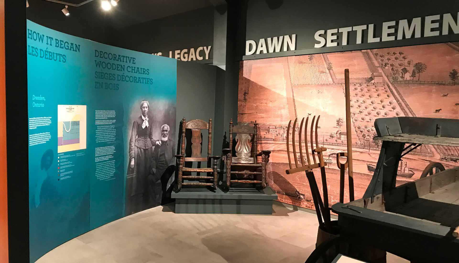 Nouvelle exposition au site historique de la Case de l'Oncle Tom (Dresden)