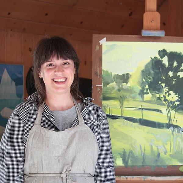 Amanda Rhodenizer, une artiste en résidence en 2017