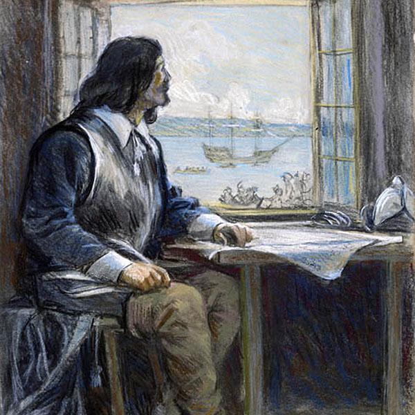 Samuel de Champlain, par George A. Reid (v. 1908)