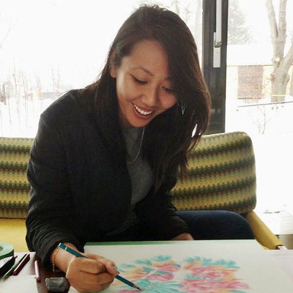Winnie Truong, artiste en résidence en 2016