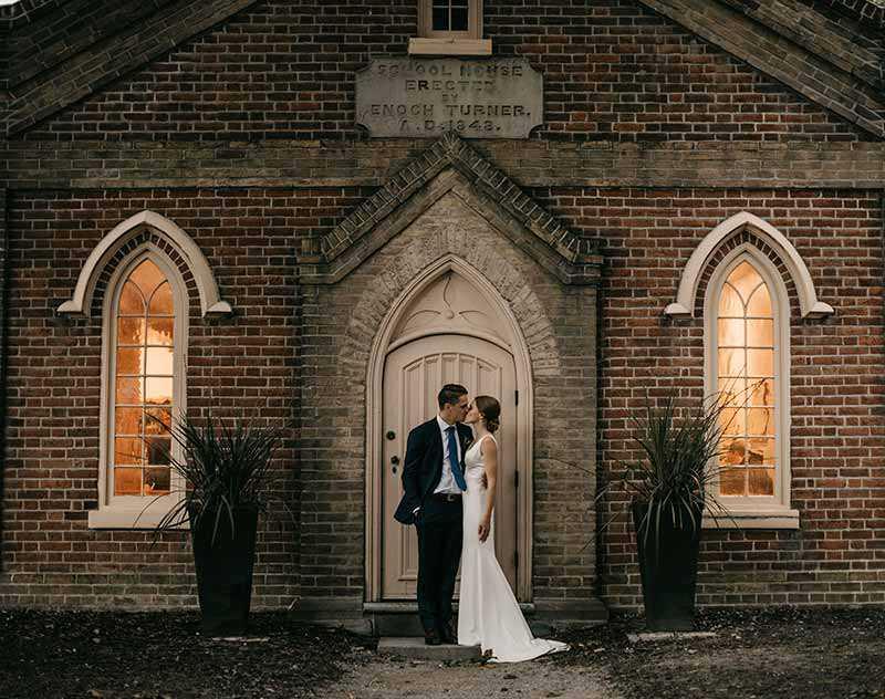 Wedding at Enoch Turner Schoolhouse, Toronto