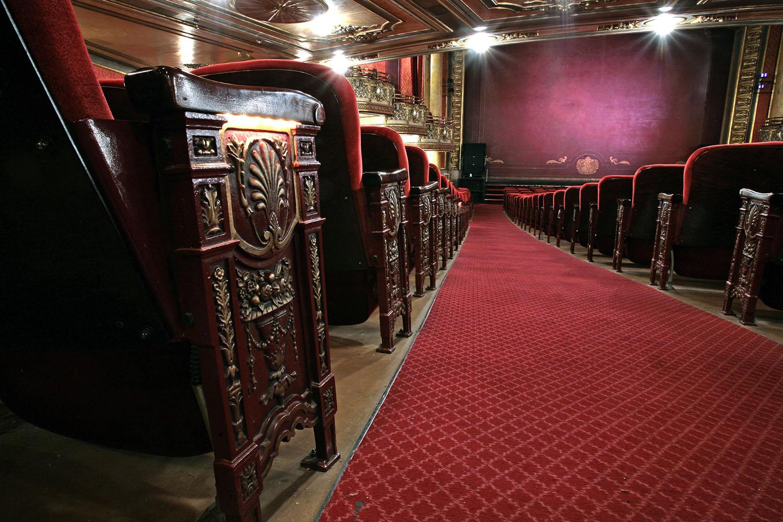 Sièges du théâtre Elgin