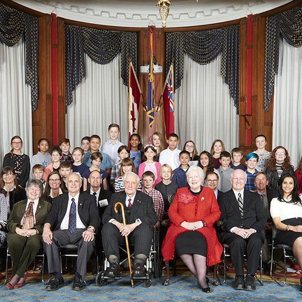 Recipients of the 2017 Lieutenant Governor's Ontario Heritage Awards