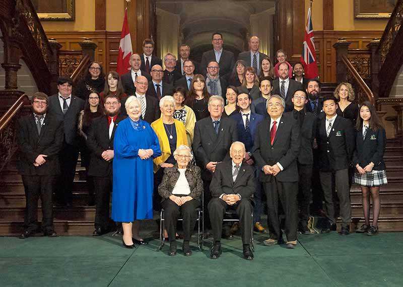 Prix du lieutenant-gouverneur pour les réalisations en matière de conservation du patrimoine ontarien, au 22 février 2019 (Photo : Ian Crysler)
