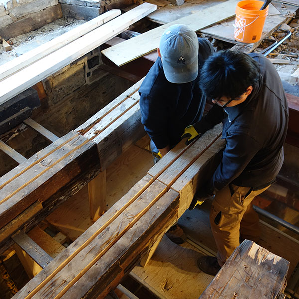 Macdonell Williamson House 2014 Timber Restoration