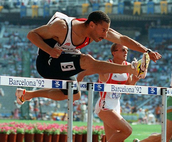 Mark McKoy aux Jeux olympiques de 1992