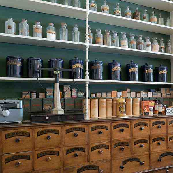 Intérieur de la Pharmacie du Niagara, Niagara-on-the-Lake