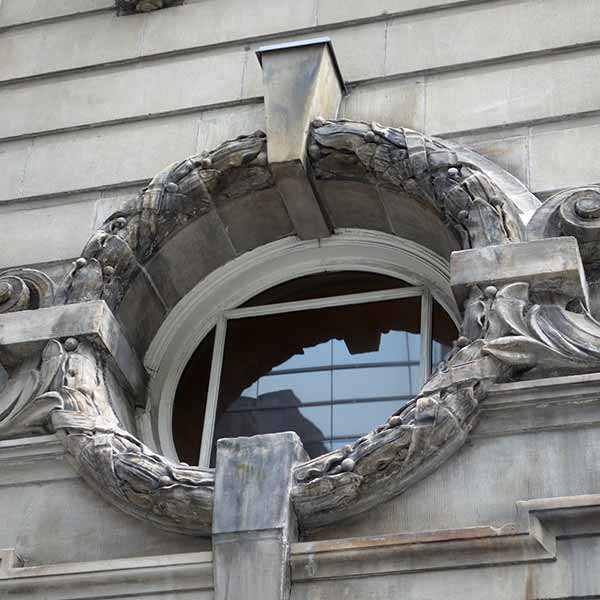 Fenêtre au Centre du patrimoine ontarien
