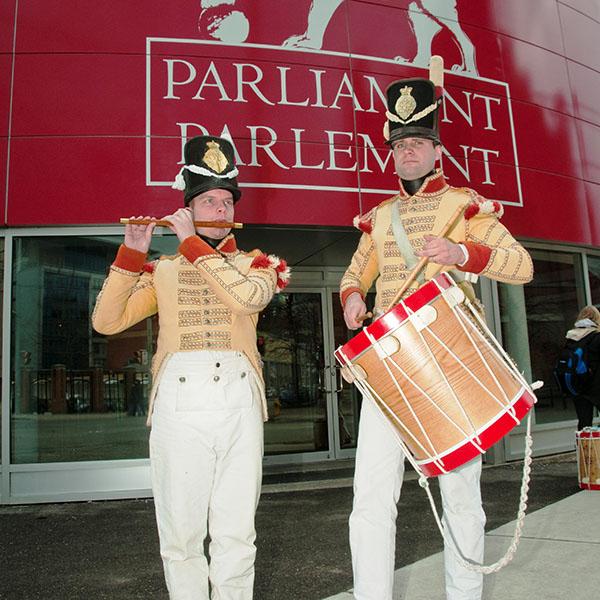 Parliament interpretive centre, Heritage Week 2012