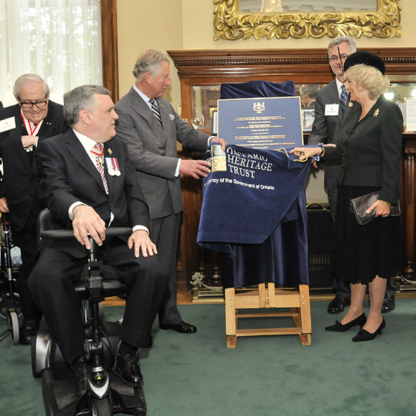 Queen's Jubilee commemorative plaque unveiling