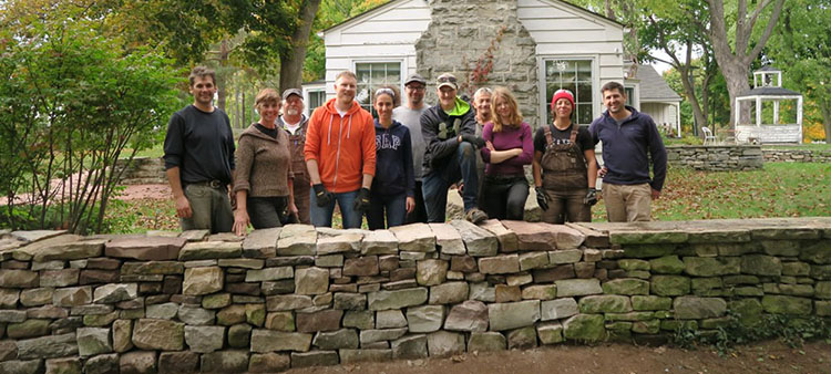 Scotsdale Dry Stone Workshop 2016