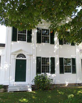 Barnum House exterior, summer 2013