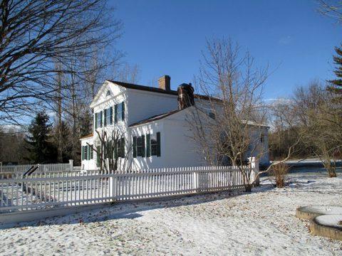 Maison Barnum extérieure, hiver 2013