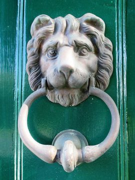 Barnum House door knocker