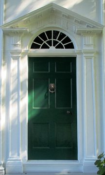 Barnum House front door
