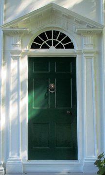 Barnum House front door