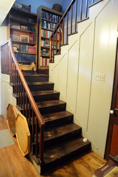 Staircase at Bethune-Thompson House