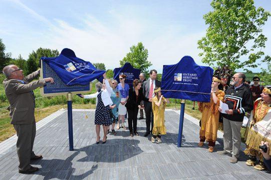 Champlain 400 Penetanguishene Plaque Unveiling Cnw 2016