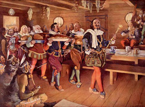 Champlain Order Of Good Cheer Jefferys