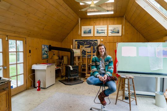 Meaghan Hyckie, 2018 artist in residence