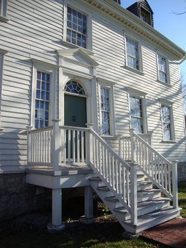 Front entrance at Duff-Baby House