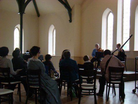 Enoch Turner Schoolhouse, Toronto (Tafelmusik concert)