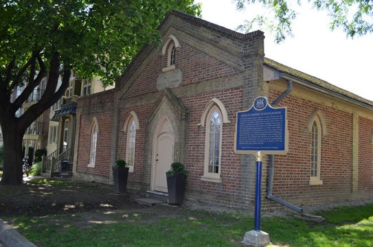 Enoch Turner Schoolhouse, Toronto (east elevation)