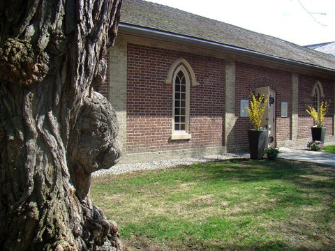 Enoch Turner Schoolhouse, Toronto (exterior)