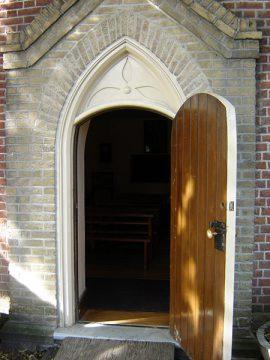 Enoch Turner Schoolhouse, Toronto (front door)
