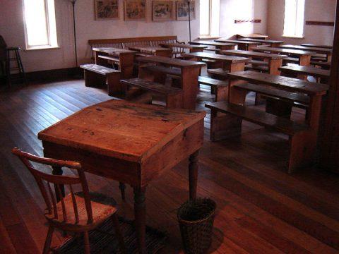 École Enoch Turner, salle d'école (Toronto)