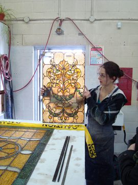 Fulford Place 2009 Stained Glass Restoration